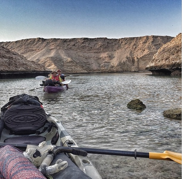 Oman Kayaking Hello965